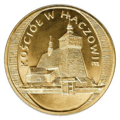 【幣】Poland 2006年 波蘭發行 The Church in Haczow 2zl 紀念幣