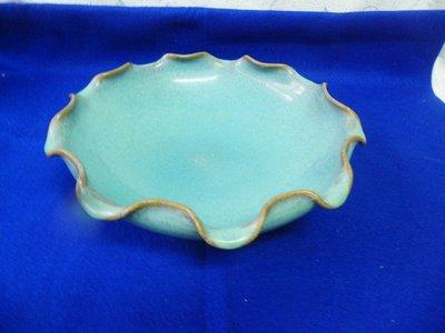 紫色小館40--------清中期汝窯蓮花盤