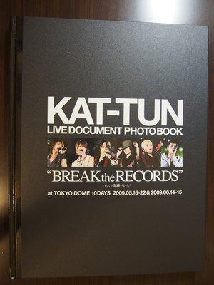 "KAT-TUN 日版寫真集『Live Document Photobook ""BREAK the RECORDS""』"