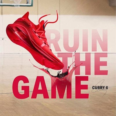 Under Armour Curry 6 Heart of The Town 3020612-603 39-46