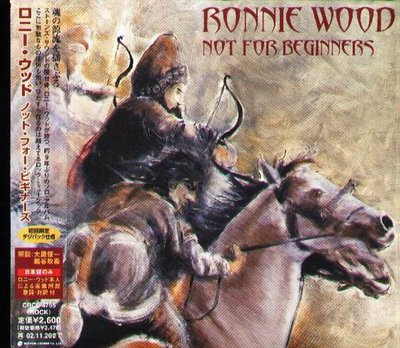 K - RONNIE WOOD - Not For Beginners - 日版 CD - NEW