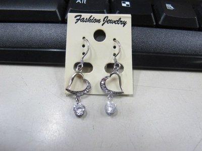 二手舖 NO.4508 時尚造型耳環 耳針 耳鉤 便宜賣 首飾飾品