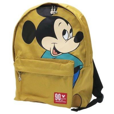 🇯🇵90周年  Mickey 日本原裝正版 黃色 背包 atw-d4369ye