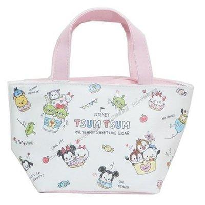 【Hito日韓雜貨舖】日本代購 迪士尼.2way可分離保溫/保冷便當袋.手提袋.TSUM TSUM