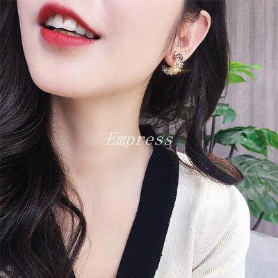 Empress丶小眾設計耳飾復古水晶之...