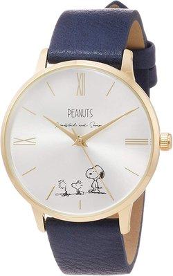 日本正版 Fieldwork PNT001-3 史努比 SNOOPY 女用 手錶 腕錶 女錶 皮革錶帶 日本代購