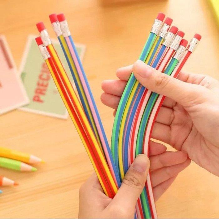 文具 變形軟鉛筆 神奇軟鉛筆 不挑色