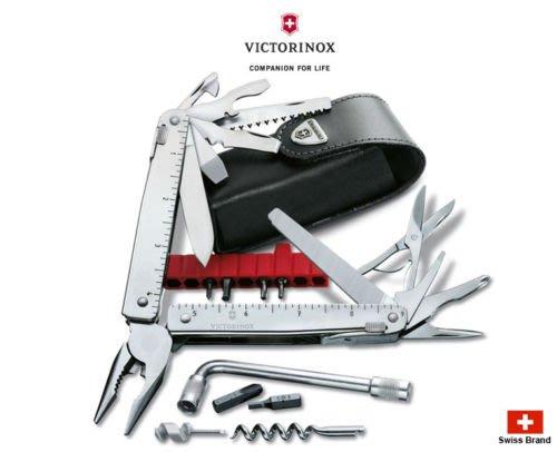 瑞士維氏 Victorinox 38用瑞士刀 53946 SwissTool CS Plus 3.0338.L皮革套