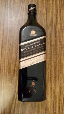 (二手商品)JW Black Scotch Whisk 英國威士忌 空酒瓶/容量1公升/高約30cm(無紙盒)