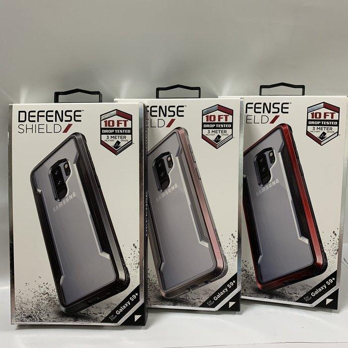 【x-doria】SAMSUNG S9 Plus 刀鋒輕盈CLEAR防摔手機殼(軍規防摔認證 MIL-STD-810G)