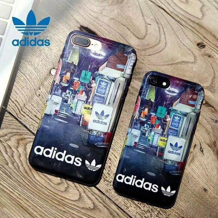 Shonda Adidas 經典全包日本街景 I-Phone 8 / 8 Plus