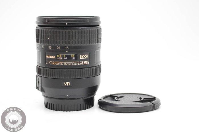 【高雄青蘋果3C競標】Nikon AF-S DX 16-85mm f3.5-5.6G ED VR 瑕疵品#49607