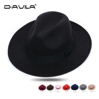 YEAHSHOP 紳士帽帽子男女英倫復古禮帽新郎官結婚帽正韓潮紳士大檐寬檐帽子313728Y185