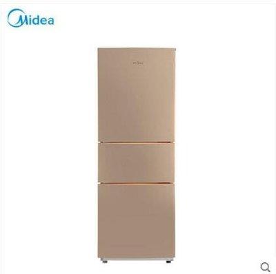 【興達生活】Midea/美的 BCD`213TM(E) 節能靜音家用三開門小冰箱