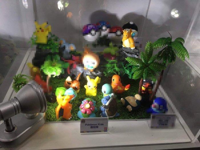 日本正版盒玩 神奇寶貝 精靈寶可夢小公仔 A 亞洲限定 中盒12入販售 快龍 噴火龍 水箭龜卡比獸 伊布