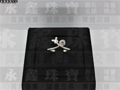 天然鑽石戒指 0.3ct F/VS1/車工完美 H&A 14K蝴蝶造型戒台 F0005