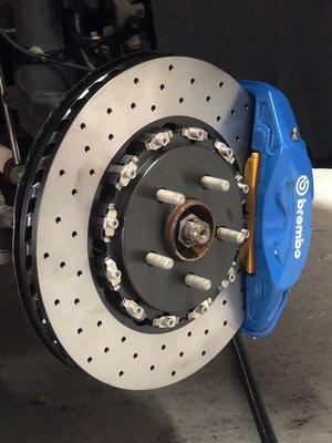 全新focus RS原廠卡鉗搭配雙片式碟盤套組