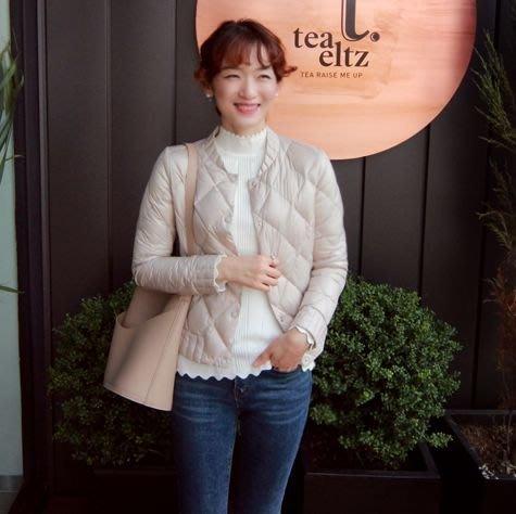 Gigi歐尼 韓國代購 正韓 【 BH3313  】 白鴨絨填充短版風衣外套(3色)