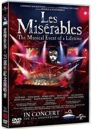悲慘世界25週年紀念演唱會DVD,Les Miserable 25th Anniversary Concert,台灣正版