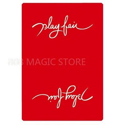 [808 MAGIC]魔術道具  Play fair V2(Red紅)
