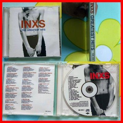 ◎1994-澳州版-印艾克斯-精選輯-等18首好歌-INXS-The Greatest Hits-CD-歡迎看圖與曲目