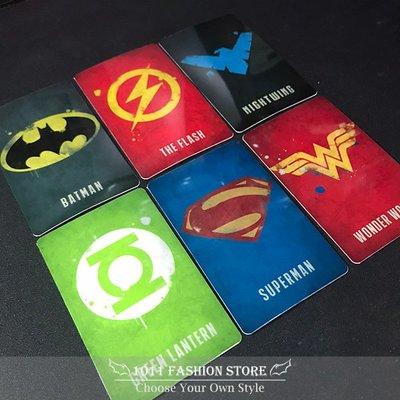 新款 DC 正義聯盟 蝙蝠俠 超人 閃電俠 綠燈俠 綠箭俠 superman icash2.0 悠遊卡 一卡通 卡貼