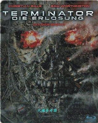【BD藍光】魔鬼終結者 未來救贖 加長版:限定鐵盒版Terminator Salvation(英文字幕,DTS-HD)
