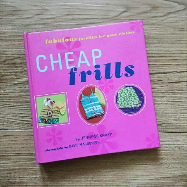 二手書出清 CHEAP frills 手作工具書 英文 設計書 藝術