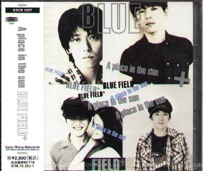 K - BLUE FIELD - A place in the Sun - 日版 - NEW
