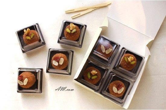 AM好時光【M39】❤天地蓋 50g 月餅 透明 塑料包裝盒 ❤ 中秋禮盒 DIY 西點 蛋糕 巧克力 蛋黃酥 禮品盒