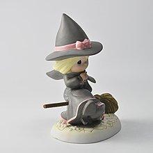 千禧禧居~Precious Moments綠野仙蹤 魔法壞女巫 Wicked精彩的女巫陶瓷擺件
