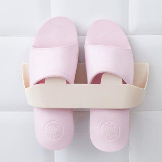 現貨 收納神器 收納架 壁掛式 塑料架 黏貼式 免打孔 防水 鞋架 分隔  ❃彩虹小舖❃ 【H19】壁掛式立體鞋架