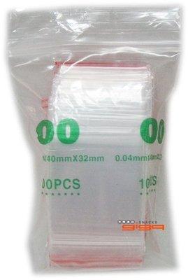 【吉嘉食品】PE夾鏈袋/由任袋/規格袋/封口袋(00號)~32*40[#1]{020080059}