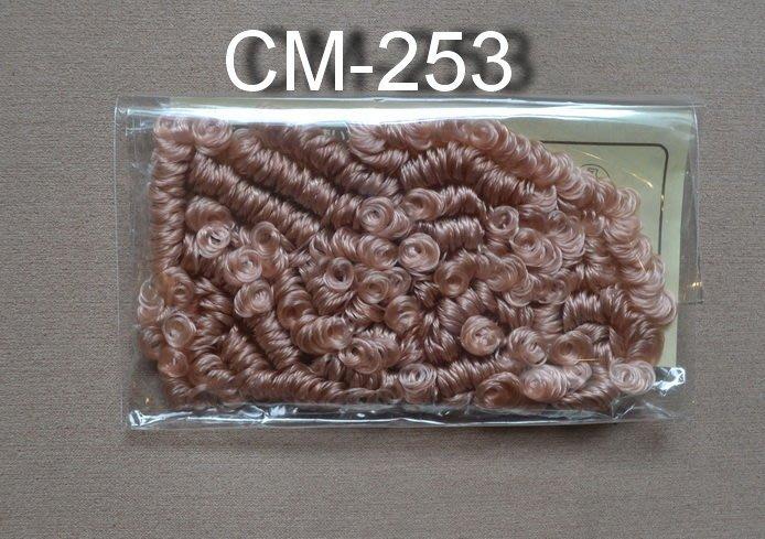*巧巧布拼布屋*日本進口~娃娃頭髮 CM-253 鄉村娃娃適用