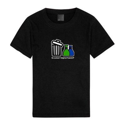 柯市長衣服 柯阿伯 顏色重要嗎 垃圾不分藍綠 Q版 隱晦 柯文哲 柯P 短T T恤 三色 百搭 可愛 自創 柯p語錄