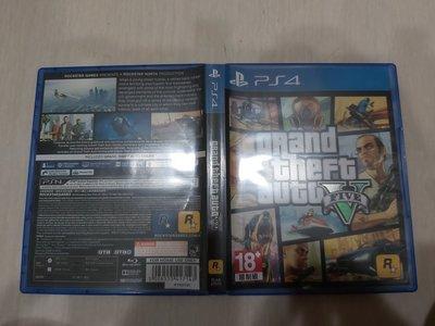 PS4 俠盜獵車手5 GTA5 中文版 直購價700