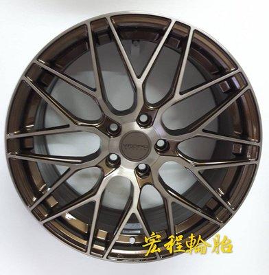 【宏程輪胎】VARRO VD06 21吋旋壓鋁圈 古銅 5/130 5/108 5/114.3 5/112 5/120