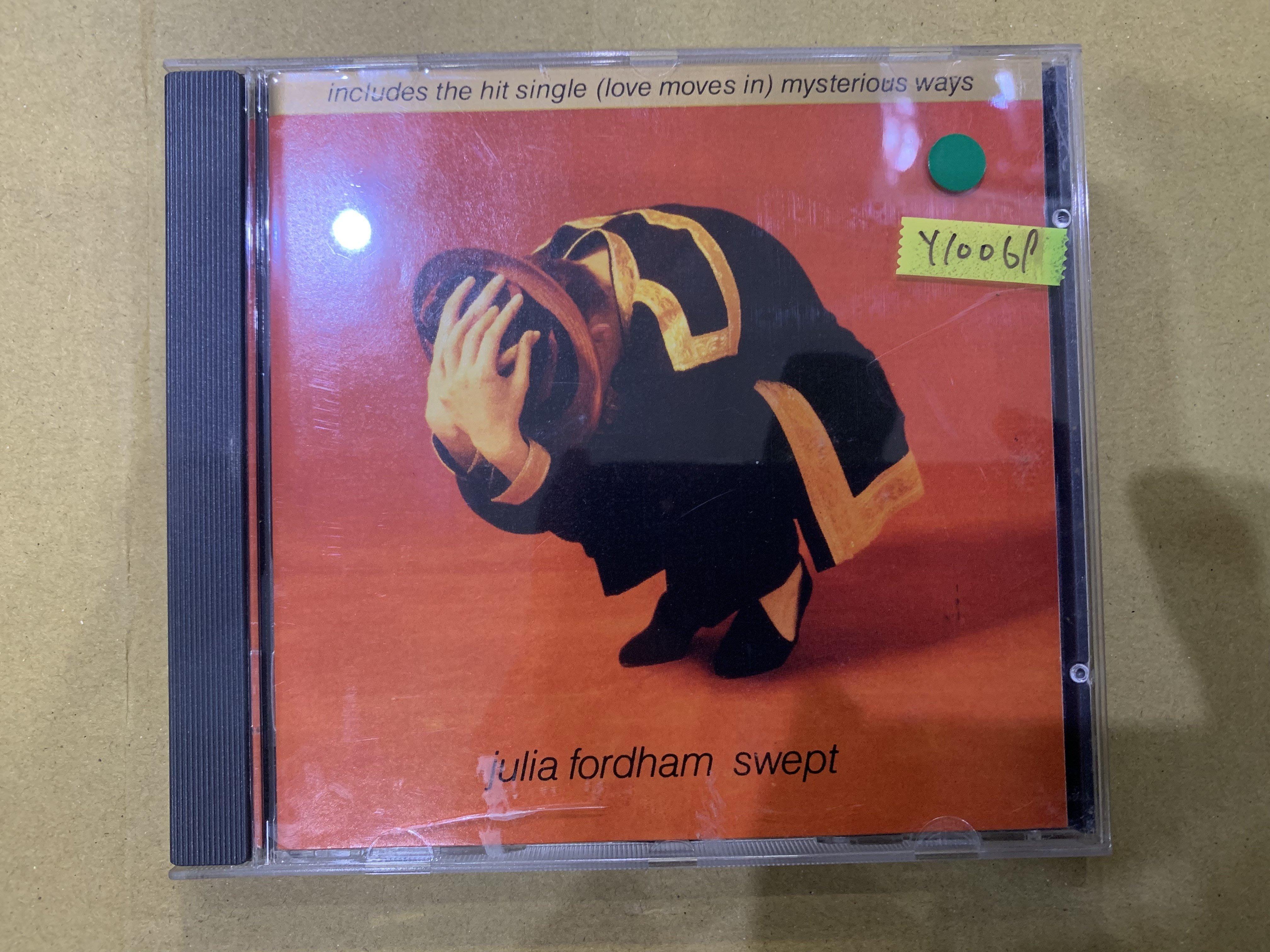 *還有唱片行*JULIA FORDHAM / SWEPT 二手 Y10069 (149起拍)