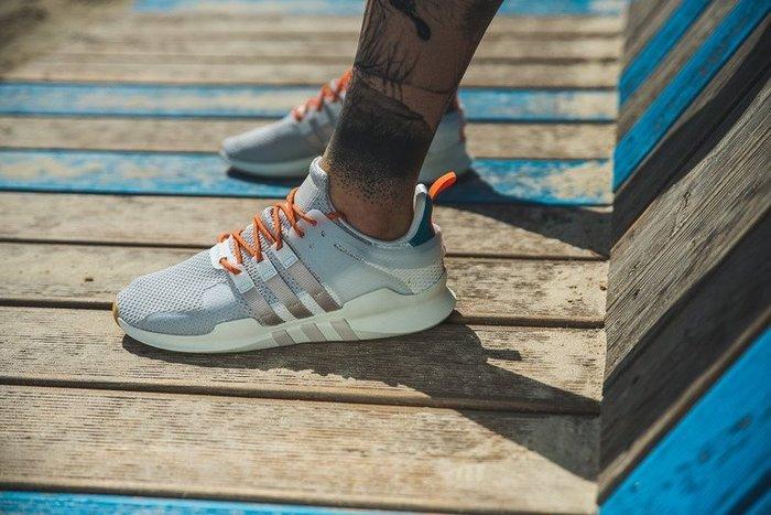 "Adidas EQT Support ADV 93/17""灰銀白藍桔""百搭 經典 透氣 休閒運動鞋 CQ3042 男"