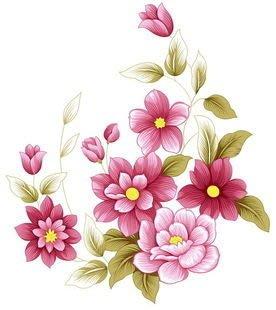 小妮子的家@手繪系列水移畫/古典玫瑰轉印貼紙/家具貼~1.22