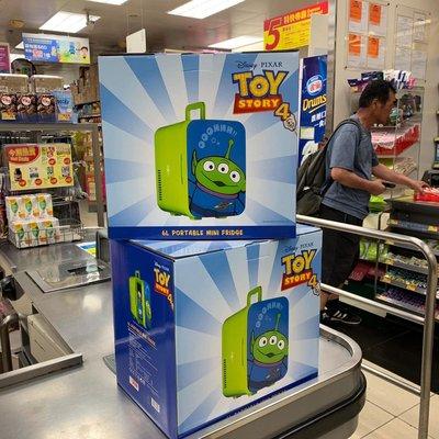 Disney Pixar 三眼仔 迷你雪櫃/Portable Mini Fridge(限量版)