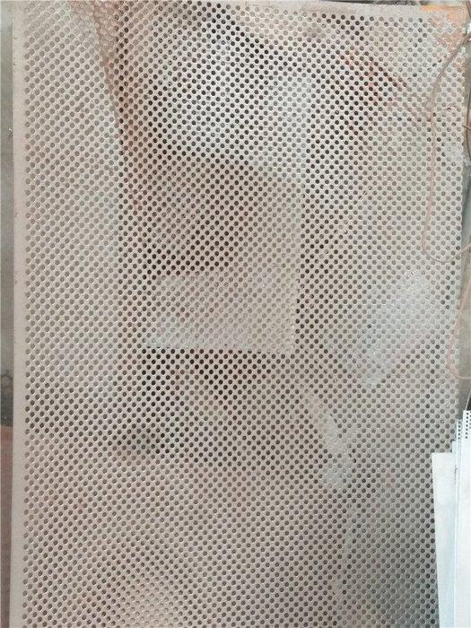 聚吉小屋 #下標聯繫客服改價 304不銹鋼沖孔板沖孔網板網孔板防盜網墊板鋼板網圓孔網花架墊板