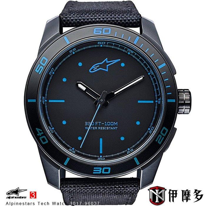 伊摩多※義大利 Alpinestars Tech Watch 手錶 腕錶 運動 奢華時尚 A星 1017-96037