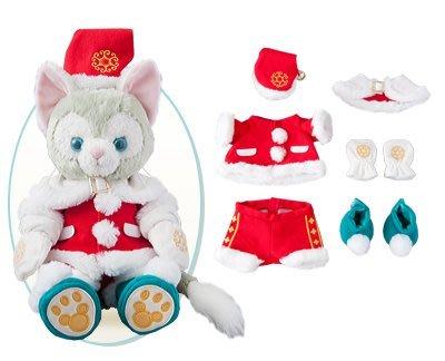 尼德斯Nydus~* 日本東京迪士尼海洋限定 達菲熊 Gelatoni 傑拉托尼 畫家貓 傑拉貓 聖誕節限定 冬裝 現貨