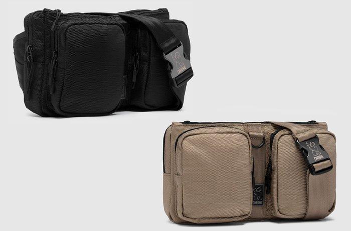 { POISON } CHROME MXD NOTCH SLING BAG (小) 單肩隨身腰包 都會型態 簡約強固設計