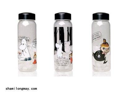 HAPPY+【V5319】MOOMIN姆明 亞美 趣味玻璃杯 水杯 隨身瓶 運動水壺 星巴克 水瓶 飲料杯 中國區授權