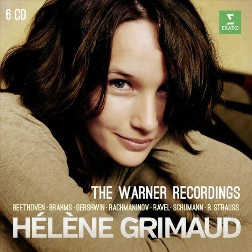 鋼琴家葛莉茉的華納時期全錄音 Helene Grimaud (6CD)-2564622737