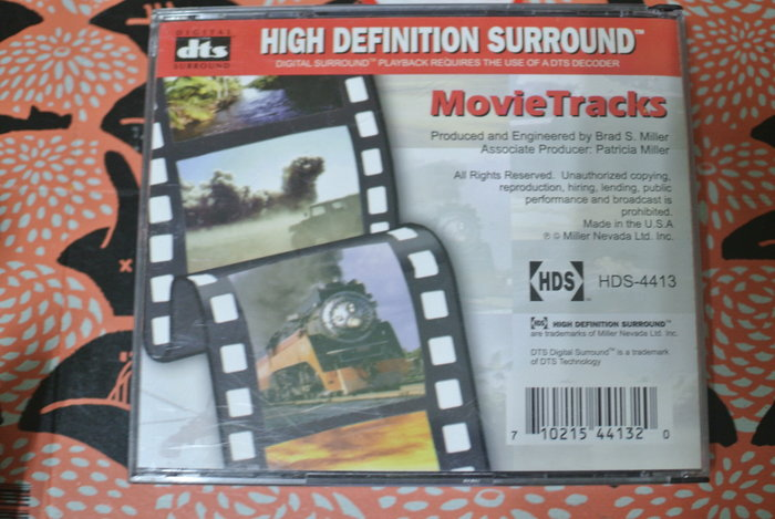 dts 3CD ~ HIGH DEFINITION SURROUND ~ MILLER NEVADA HDS-4413