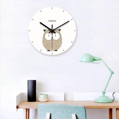 北歐掛鐘鐘錶客廳家用時鐘個性創意潮流時尚現代簡約藝術臥室兒童『舒心生活』