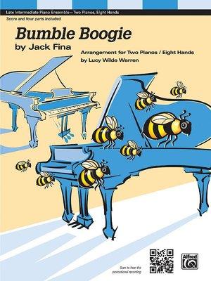 【599免運費】名曲改編給兩架鋼琴八手聯彈【Bumble Boogie】AP.39363